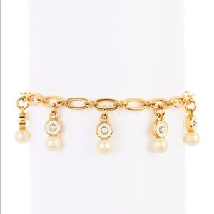 pearly delight charm bracelet